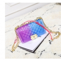 Personality Girls Colorful Transparent PVC Bag SL2616