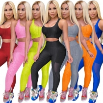 Women's sports suit sexy racer vest home slimming yoga clothes ZSC0313