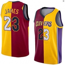 James FMVP top 6 and 23 mandarin duck stitching jerseys Cavaliers Lakers Heat team finals basketball uniforms P639188920934