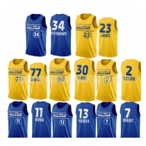 All-Star jersey James Curry Harden Irving Durant Anteman Doncic jersey PH640013088549