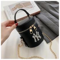 Simple personality bright diamond chain bag shoulder messenger handbag HJ-8933